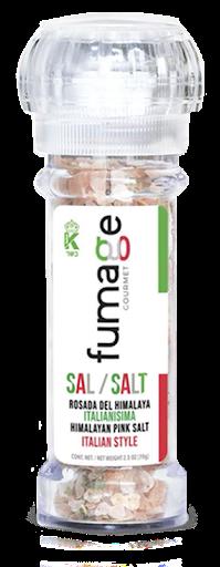 sal del himalaya fumage italianisima con molinillo integrado 70g