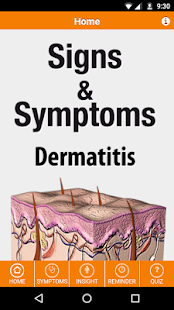 Signs & Symptoms Dermatitis - náhled