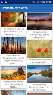 Download Pensamiento Citas y frases famosas For PC Windows and Mac apk screenshot 3