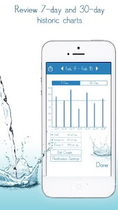 Daily Water Tracker Reminder – Hydration Log 4