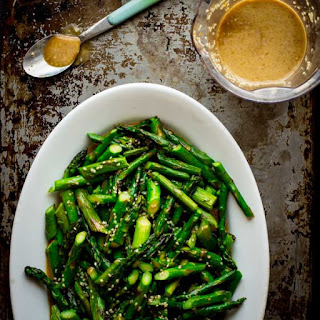 Sesame Roasted Asparagus Salad.