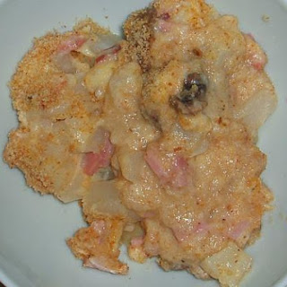 Ham and Potato Au Gratin