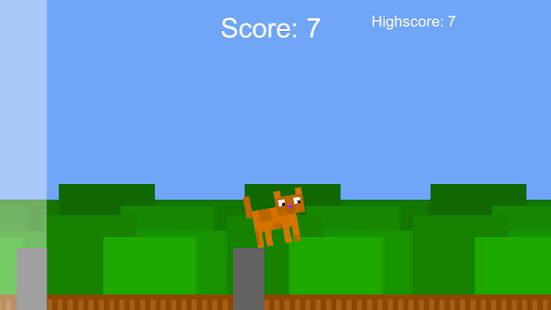 Jumpy Cat - náhled
