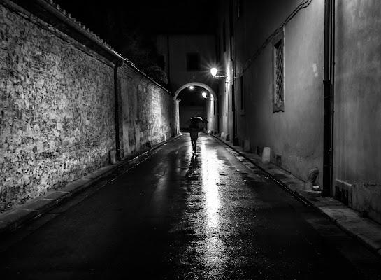 Solitario sotto la pioggia di VIC61
