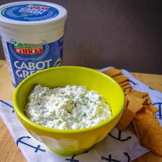 Broccoli-Cheddar Greek Yogurt Topping.