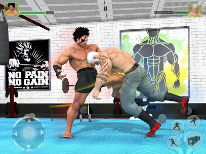 Bodybuilder Fighting Games: Gym Wrestling Club PRO 7