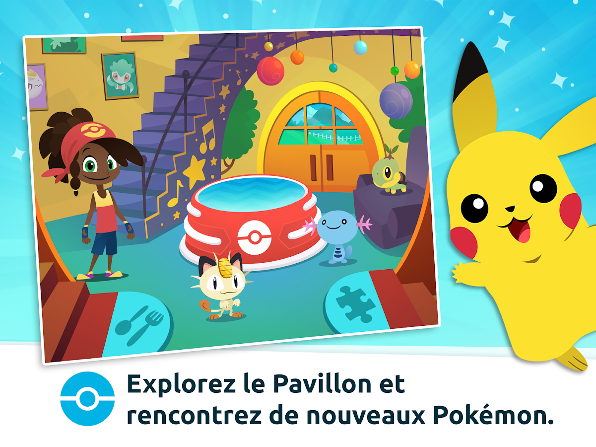 Pavillon Pokémon – Capture d'écran