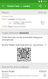 Captain Train: train tickets Screenshot 6