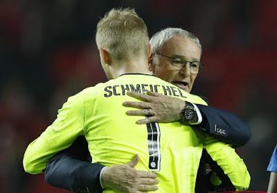 Schmeichel rend hommage à Ranieri