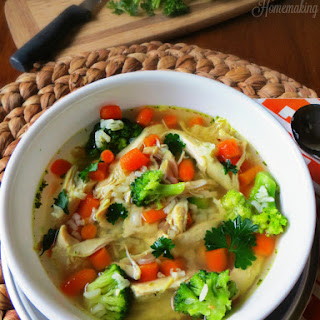Easy Chicken Soup With Frozen Vegetables Recipes.