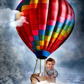 balloon by Emanuel Correia - Digital Art People