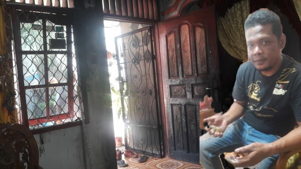 Rumah Mertua Salah Satu Awak Media Dikota Pematangsiantar Diduga Dibakar OTK