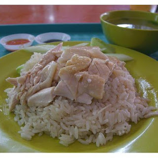 Rice And Chicken.