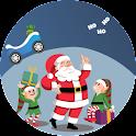 Give Kid A Gift - Santa Racing icon