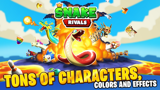 Snake Rivals – New Multiplayer Games - screenshot