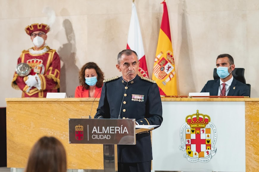 Intervención del coronel Javier Soriano.