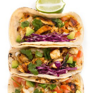 Grilled Lime Chicken Taco.