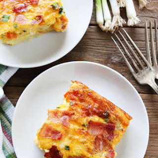 Bacon, Potato, and Egg Casserole