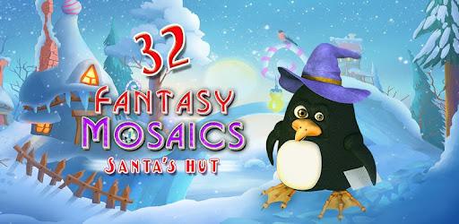 Fantasy Mosaics 32: Santa's Hut Premium Paid Game Unlocked Free to download