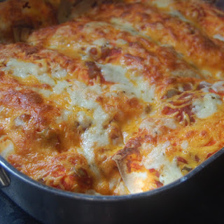 Cream Cheese Enchiladas