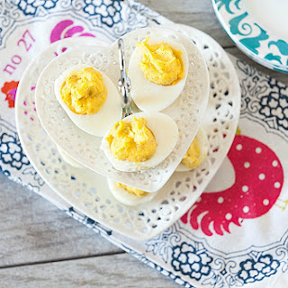 The Best Healthy Deviled Eggs