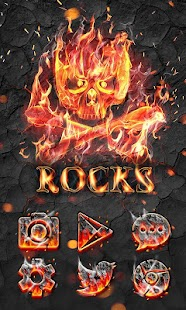 Rocks GO Launcher Theme- screenshot thumbnail