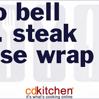 Taco Bell A.1. Steak House Wrap