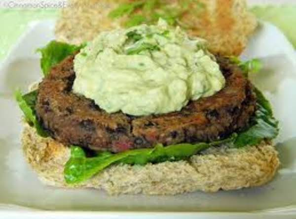Southwestern Black Bean Cakes With Guacamole Recipe