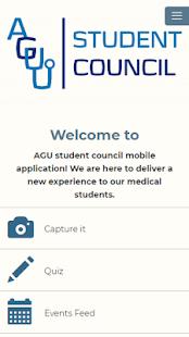 AGU student council - náhled
