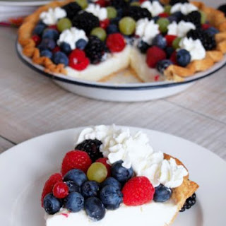 Vanilla Cream Pudding Pie.