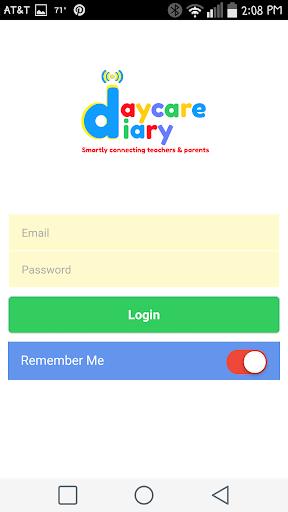 Teachers Daycare Diary