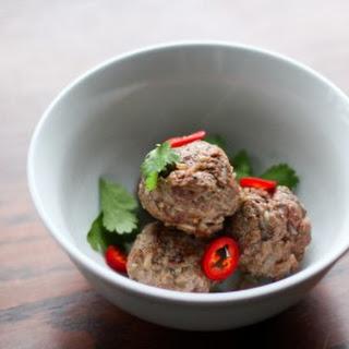 Lemongrass Meatballs Recipe