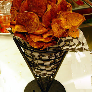 Weight Watchers Baked Sweet Potato Chips
