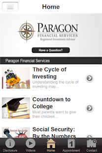 Paragon Financial Services- screenshot thumbnail