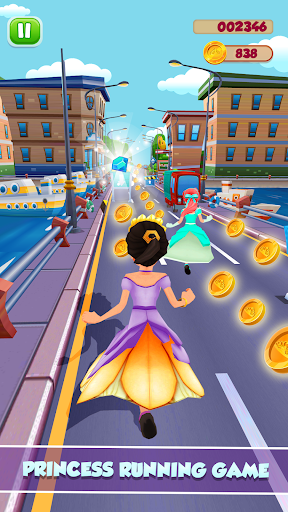 Princess Running Games screenshot 8