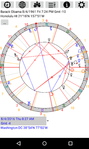 Screenshot for Astrological Charts in United States Play Store
