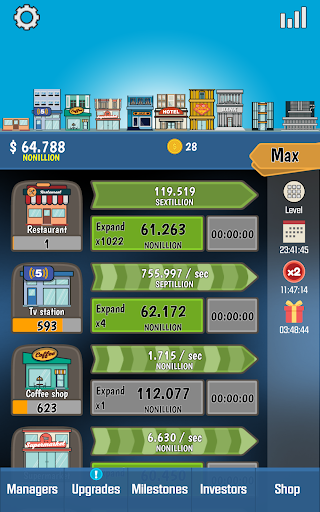 Business Tycoon - Idle Clicker 1.4.5 {cheat|hack|gameplay|apk mod|resources generator} 5
