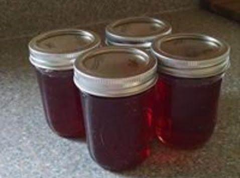 Strawberry Wine Jelly