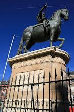 Photo: Estatua de Felipe III en la Plaza Mayor