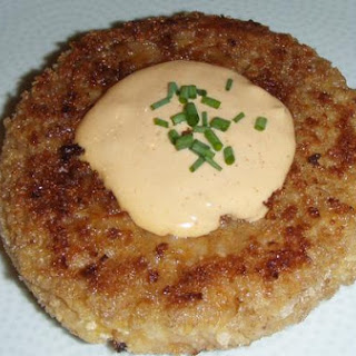 Crab Risotto Cakes With Spicy Remoulade
