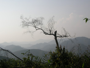 Photo: Typical trek view near Luang Namtha -  China in the distance