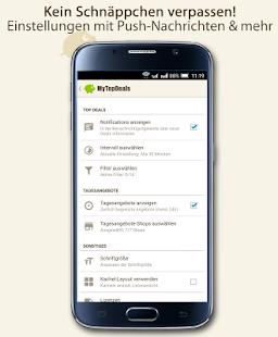 MyTopDeals - Schnäppchen App- screenshot thumbnail