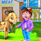 Meat Factory Cooking Chef - Game for kids