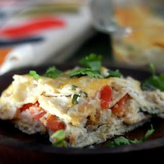 Easy Salsa Verde and Pork Casserole