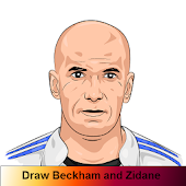 Draw Beckham and Zidane