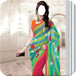 Indian Woman  Designer Saree