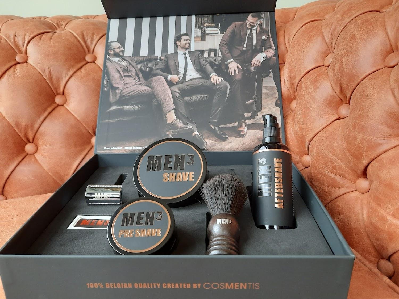 zenhuis MEN³ shave box eindejaarscadeau personeelsgeschenk