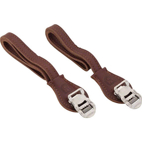 Velo Orange Grand Cru Leather Toe Straps