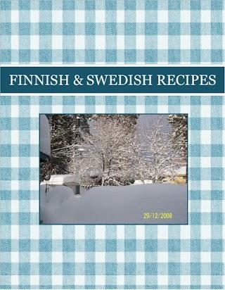 FINNISH   &  SWEDISH    RECIPES