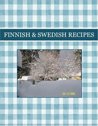 FINNISH   &  SWEDISH    RECIPES